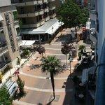 Via Dante vista dai nostri balconi