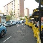 Бесплатный паравозик от центра Пуэрто-де-ла-Круз до Лоро Парка