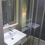 Banheiro, moderno, diferente, limpo!