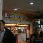 Langos stand