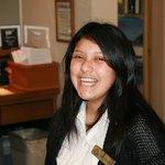 Sheyssa, front desk staff