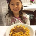 Pappardelle with cinghiale (wild boar) ragu