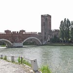 Castle and river Adige