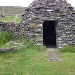 tour arranged by the Fairview. Beehive hut on the Dingle penninsula