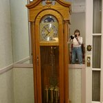 Lovely old grandfather clock