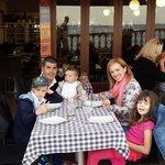 La famiglia con Miquel!