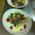 Assiette de fruits de mer chaude :)