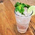 Rhubarb & Mint Moonshine Tea