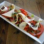 Tomato Romano Salad