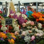 Flowers at the market!