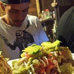 Fish Tacos & the Chef himself!!
