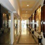 Shop corridor