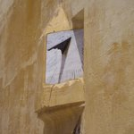 Mausoleum of Moulay Ismail - sundial