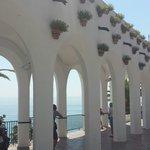 El balcón de Europa.