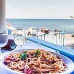 Spaghetti mit Aussicht