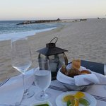 Private dinner on the beach... Great service.