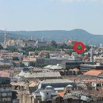 View from St Stephens Basilica of the hotel and surrounding area