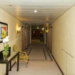 wide halls on room floors