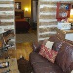 Bollinger Cabin living room