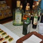 Olive oil and vinegar tasting