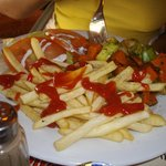 La Grillardiere - Cooked vegetables w/frites