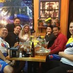 CTV Production Team at La Casita Tacos in West End Vancouver BC