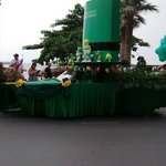 St Patrick's day parade Pattaya March 17th 2014