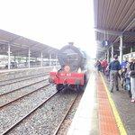 The train at Bangor