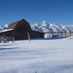 moulton barn winter
