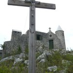 Crucifix at the top of the Stations of the Cross
