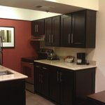 Kitchen in the hotel room