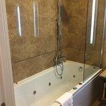 Bathtub with whirlpool