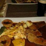 Sunday roast dinner......