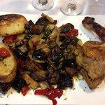 Pollo al horno con verduras, estaba tan bueno como aparenta !!