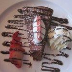 Yummy chocolate dessert