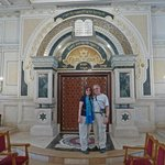 At the Temple Beth-El Synagogue in Casablanca