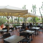 Terrace Adjacent to Bar Area
