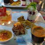 Dessert uit het chef's surprise menu