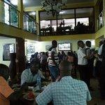 typical Tanzanian restaurant