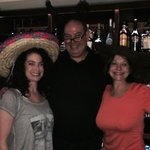 Mom and I with bartender John