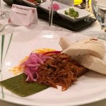 Boiled beef dinner at Mayan Riviera