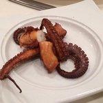 Octopus appetizer!  Try it.