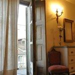 Rum med balkong