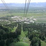 tram view during ascent