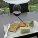 KI Cheese and Relish with KI Dudley Cabernet