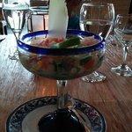 Lobster Ceviche at Los Lirios--excellente!