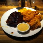 Ribs and chicken tender combo looks delicious!!