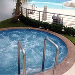 Jacuzzi by main pool