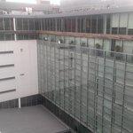 l'hôtel vu du toit