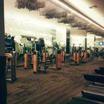 Fitness area tentrem hotel all lifefitness